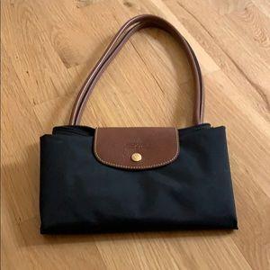 Longchamp le pliage shopping modele depose black